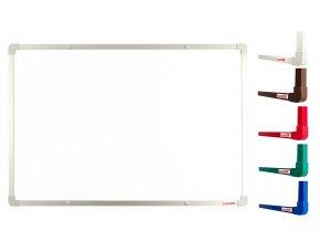 Biele magnetické tabule boardOK 60 x 45 cm