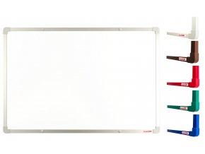 Biele magnetické tabule boardOK 60 x 90 cm