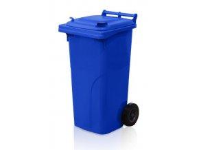 Popolnice 120 litrov modrá