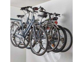 Stenový držiak bicyklov - 4 kolesá