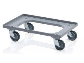 podvozek pro prepravky 4 otocna kola sedy