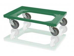 podvozek pro prepravky 4 otocna kola modry