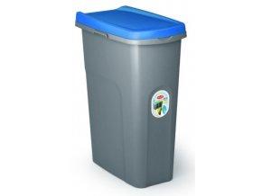 smetny kos na triedenie odpadu eco home system 40 litrov modrý