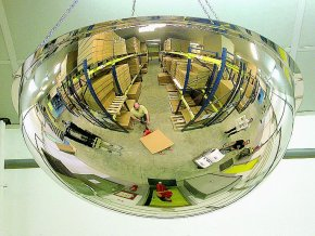 Hemisférickou zrkadlo 1000
