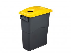 Nádoba na Triedenie odpadu 85 litrov + žlté veko na plasty