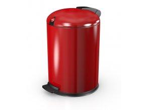 Nášľapný kozmetický kôš Hailo 4 litre, červený lak