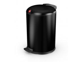 Nášľapný kozmetický kôš Hailo 4 litre, čierny lak