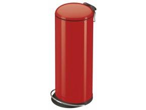 Odpadkový kôš Hailo nášľapnú 24 litrov, červený lak