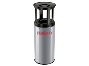 Odpadkový kôš s popolníkom Profiline Combi Plus, 50 l, strieborný