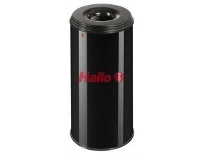 Odpadkový kôš samohasiace ProfiLine, 50 litrov, čierny