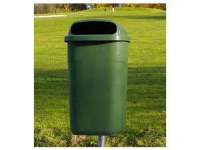 Odpadkový kôš vonkajšie klasický 50 litrov