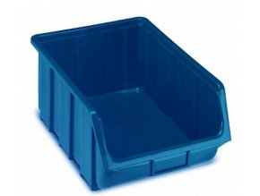 Plastová krabička 187 x 333 x 505 mm, modrá, bal.j.4 ks