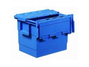 Plastový prepravný box Integra, objem 25 l