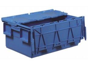 Plastový prepravný box Integra, objem 46 l