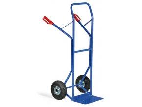 Rudla so spevnenou konštrukciou, 250 kg, dušové kolesá