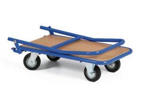 Skladací plošinový vozík, váha len 16 kg