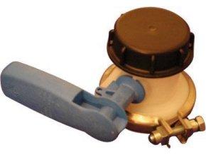 Skrutkové viečko plné na výpustný ventil, 640 l