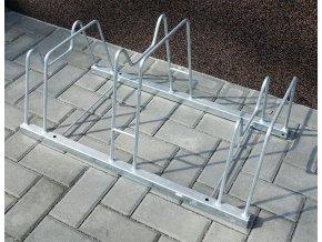 Stojan na bicykle obojstranný typ PAL, 3 parkovacie miesta, NVN