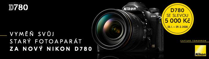 Nikon D780 - 5000 sleva