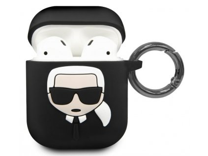 Karl Lagerfeld TPU Case Apple Airpods, Black