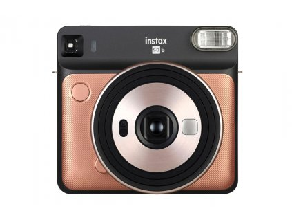 FUJIFILM Instax Square SQ6 gold  + Accessory kit gold pro SQ6