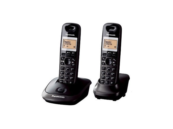 Panasonic KX-TG2512FXT (černý) TwinPack