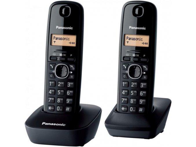 Panasonic KX-TGB212FXB Twinpack (černý)