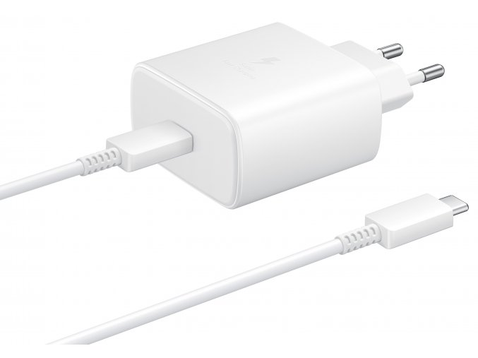 Samsung EP-TA845XW Ultra-Fast Charger 45W, White
