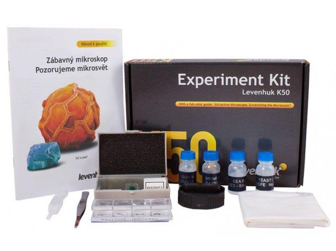 Levenhuk K50 Experiment Kit - CZ