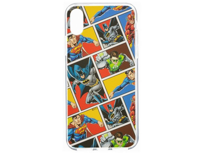 DC League of Justice 01 zadní kryt iPhone X
