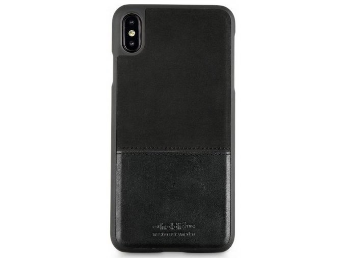 HOLDIT Case iPhone XS Max -Black Leather/Suede