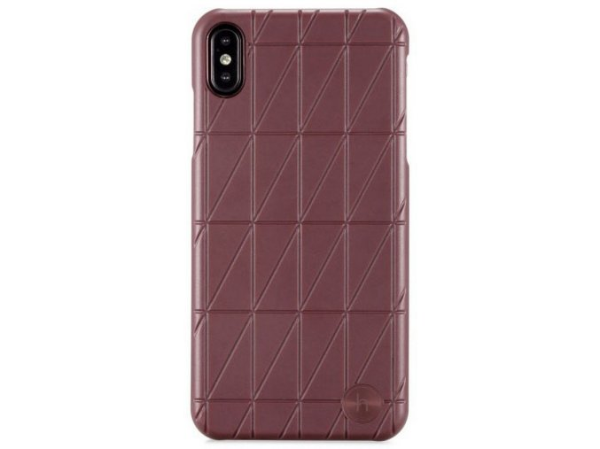 Holdit Case iPhone XS Max Tokyo Frame Maroon