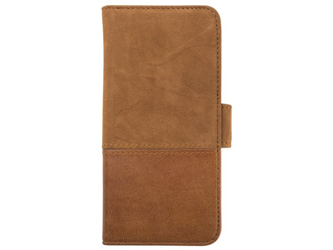 HOLDIT Wallet Case mag.Galaxy S8+ - Brown Leat/Sue