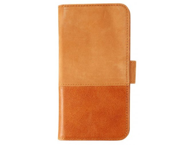 HOLDIT Wallet Case iPhone x - Brown leather/suede