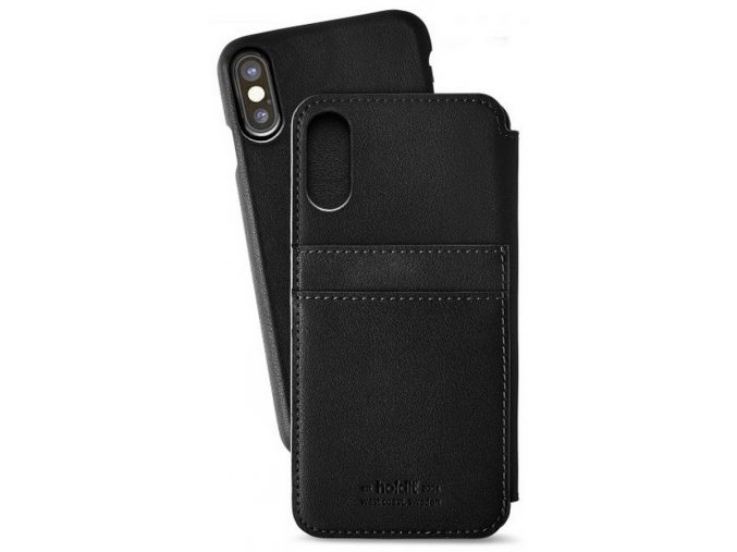 Holdit Wallet case iPhone X/XS - Berlin Black