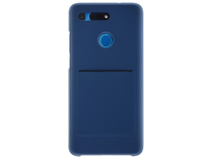 Honor View20 Wallet Cover - zadní kryt, Blue