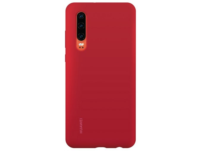 Huawei P30 Silicone Case Red