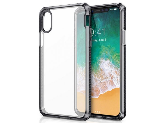 ITSKINS Hybrid 2m Drop iPhone X/XS, Black