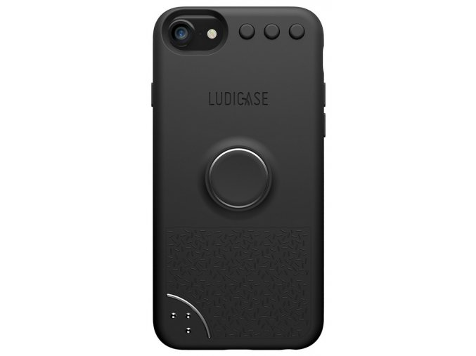 LUDICASE Edition iPhone 6/7/8/SE 2020, Black