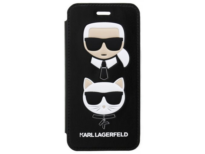Karl Lagerfeld Karl&Choupette Book iPhone 7/8/SE2