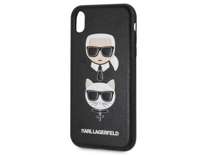 Karl Lagerfeld Karl&Ch. Hard Case iPhone XR, Black