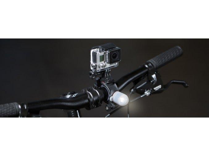 JOBY držák Bike Mount Light Pack, černá/šedá