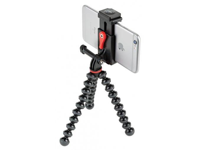 JOBY GSM GripTight Action Kit, černá/šedá/červená