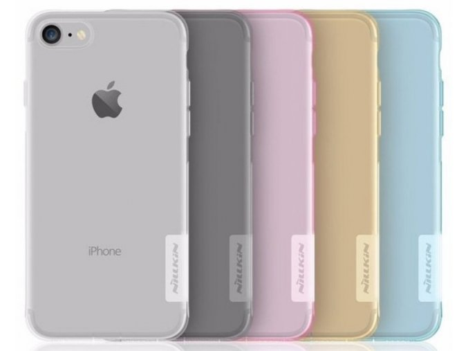 Nillkin Nature TPU pouzdro iPhone 7/8/SE2, Clear