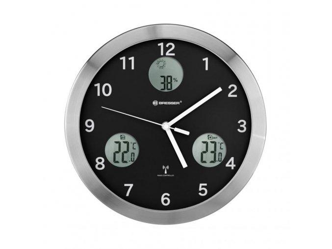 Bresser MyTime io Wall Clock 30cm black