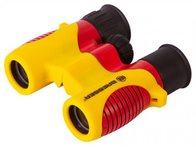 Bresser Junior 6x21 Binoculars for children,yellow