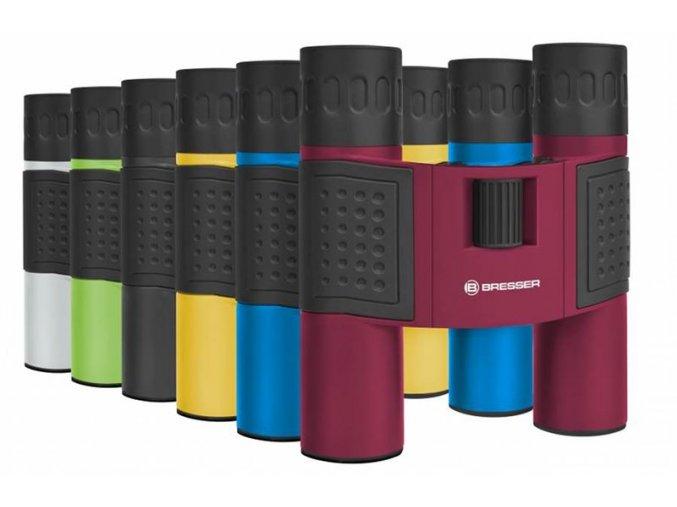 Bresser Topas 10x25 Yellow Binoculars