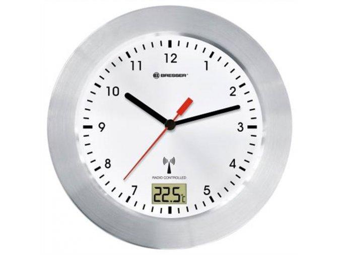 Bresser MyTime Bath Waterproof Wall Clock, white