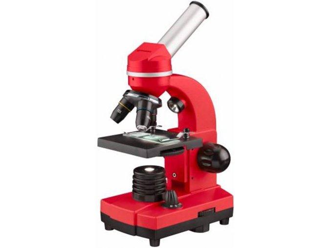 Bresser Junior Student Biolux SEL Microscope, red