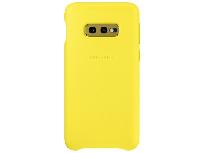 Samsung EF-VG970LY Leather Cover Galaxy S10e,Yello